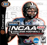 NCAA College Football 2K2 Dreamcast