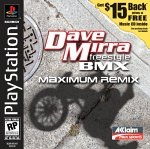 Dave Mirra Freestyle BMX: Maximum Remix PSX