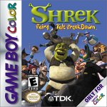 Shrek: Fairy Tale Freakdown Game Boy