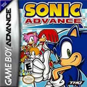 Sonic The Hedgehog Advance GBA