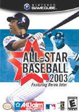 All-Star Baseball 2003 for GameCube last updated Feb 13, 2008