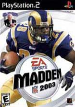 Madden NFL 2003 for PlayStation 2 last updated Dec 15, 2007