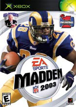 Madden NFL 2003 for Xbox last updated Mar 25, 2003