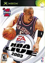 NBA Live 2003 for Xbox last updated Apr 24, 2003