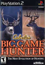 Cabela's Big Game Hunter PS2