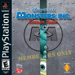 Monsters, Inc. Scream Team PSX