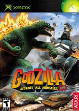 Godzilla: Destroy All Monsters Xbox