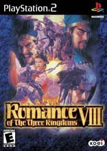 Romance of the Three Kingdoms VIII PS2