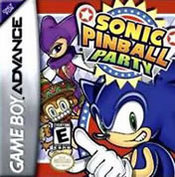 Sonic Pinball Party for Game Boy Advance last updated Aug 15, 2006