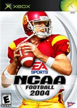NCAA Football 2004 for Xbox last updated Jul 31, 2003