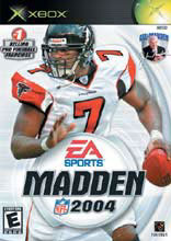 Madden NFL 2004 for Xbox last updated Feb 01, 2004