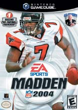 Madden NFL 2004 for GameCube last updated Feb 22, 2009
