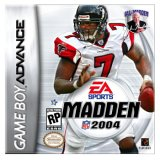 Madden NFL 2004 for Game Boy Advance last updated Aug 08, 2003