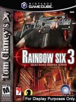 Rainbow Six 3 for GameCube last updated Feb 13, 2008