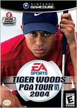 Tiger Woods PGA Tour 2004 GameCube