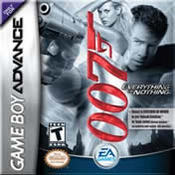 James Bond 007: Everything or Nothing for Game Boy Advance last updated Aug 09, 2003