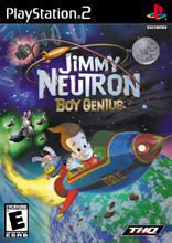 Jimmy Neutron Boy Genius PS2