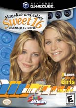 Mary-Kate and Ashley: Sweet 16 Licensed to Drive GameCube