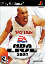 NBA Live 2004 for PlayStation 2 last updated Dec 11, 2007