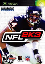 NFL 2K3 for Xbox last updated Jun 20, 2007