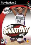 NBA Shootout 2003 for PlayStation 2 last updated Aug 12, 2003