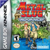 Metal Slug Advance GBA