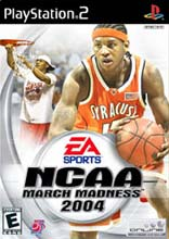 NCAA March Madness 2004 PS2