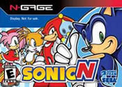 Sonic N for N-Gage last updated Jan 06, 2009