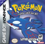 Pokemon Sapphire for Game Boy Advance last updated Nov 30, 2012