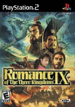 Romance of the Three Kingdoms IX PS2