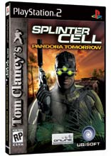 Tom Clancy's Splinter Cell: Pandora Tomorrow PS2