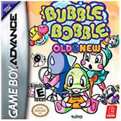 Bubble Bobble: Old & New GBA