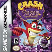 Crash Bandicoot Purple: Ripto's Rampage GBA