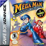 Mega Man Anniversary Collection GBA
