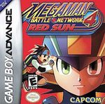 Mega Man Battle Network 4 - Red Sun GBA