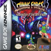 Shining Force: Resurrection of the Dark Dragon for Game Boy Advance last updated Dec 26, 2005