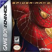 Spiderman 2 GBA
