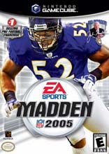 Madden NFL 2005 for GameCube last updated Jun 25, 2008