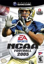 NCAA Football 2005 for GameCube last updated Jan 26, 2008