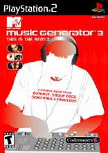MTV Music Generator 3: This is the Remix PS2