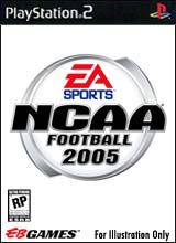 NCAA Football 2005 for PlayStation 2 last updated Aug 05, 2005