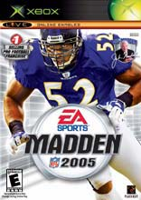 Madden NFL 2005 for Xbox last updated May 06, 2005