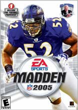 Madden NFL 2005 for PC last updated Sep 01, 2004