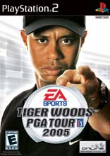 Tiger Woods PGA Tour 2005 PS2