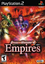 Dynasty Warriors 4: Empires for PlayStation 2 last updated Sep 07, 2004