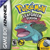 Pokemon: LeafGreen GBA