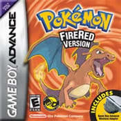 Pokemon: FireRed GBA