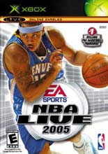 NBA Live 2005 for Xbox last updated Jan 11, 2009