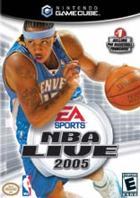NBA Live 2005 for GameCube last updated Jul 18, 2009