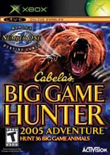 Cabela's Big Game Hunter 2005 for Xbox last updated Apr 02, 2005
